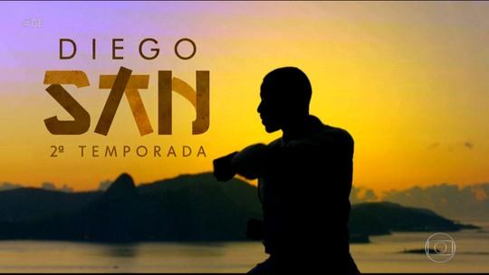 Diego San será destaque no Esporte Espetacular deste domingo