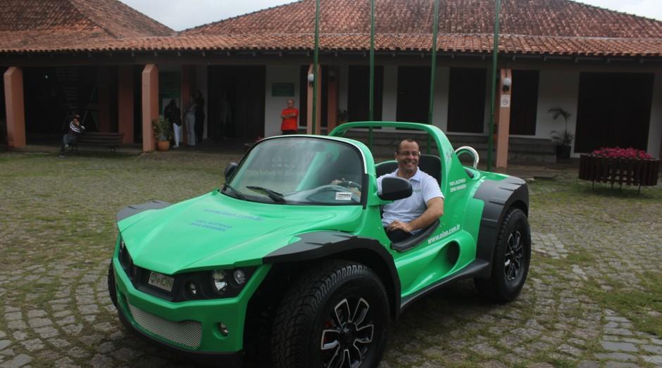Buggy Power, carro elétrico criado por empreendedor paranaense (Foto: Divulgação)