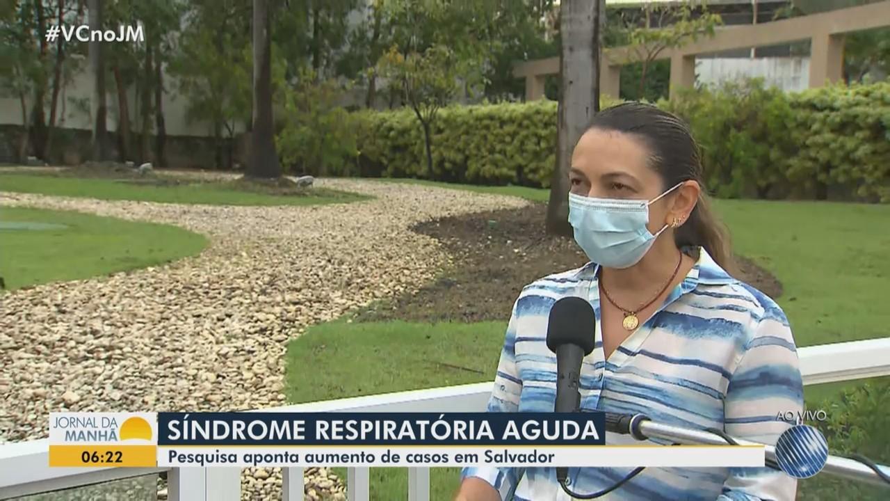 Pesquisa da Fiocruz aponta aumento dos casos de síndrome respiratória aguda em Salvador