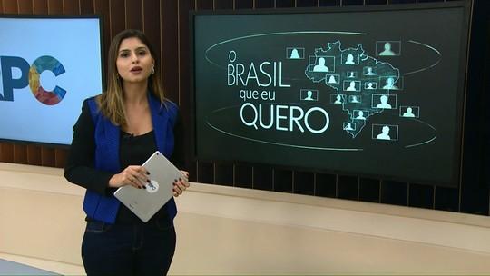 Moradores de Diamante do Sul são convidados a participar da campanha Brasil Que Eu Quero