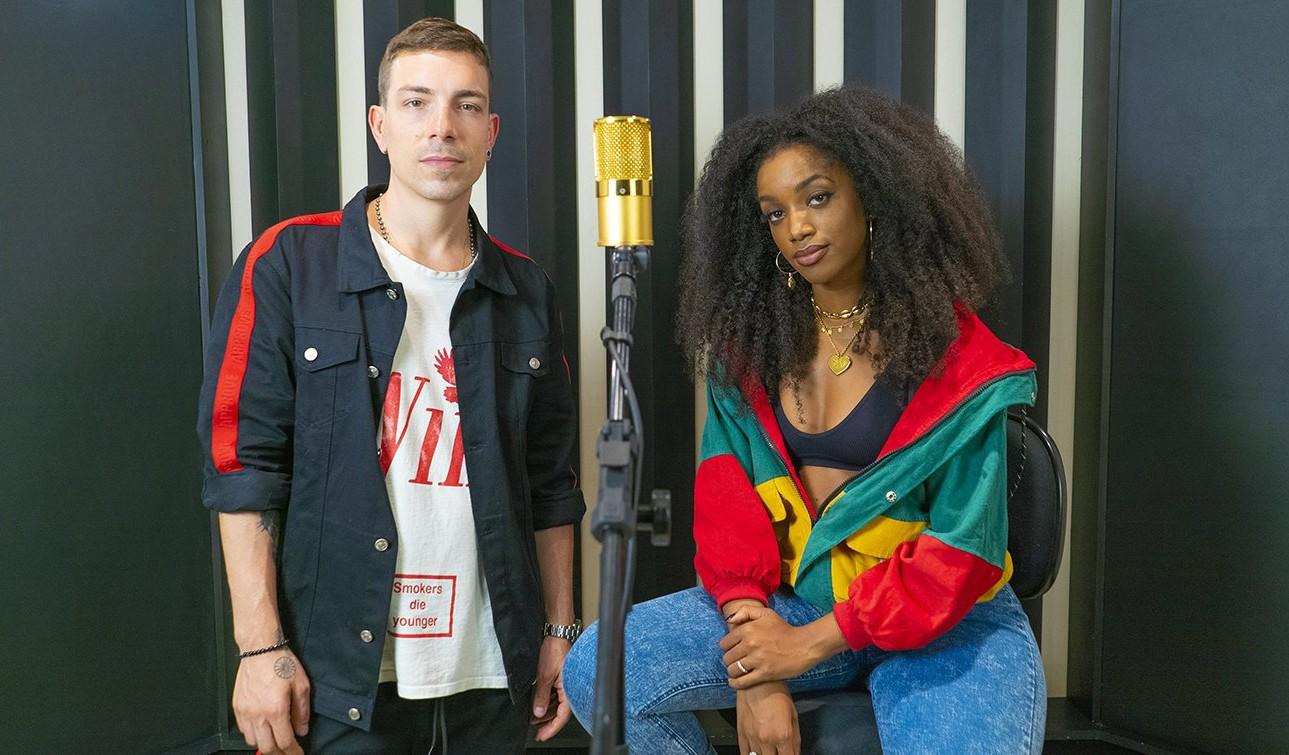 Di Ferrero e Iza mostram, em single, onde chegaram no estúdio