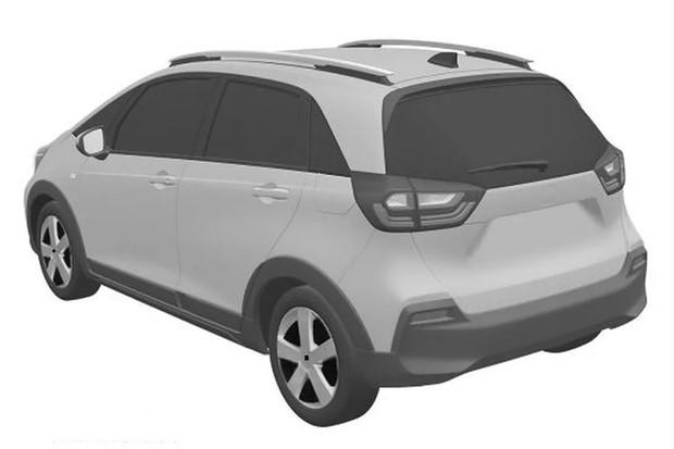 Novo Honda Fit INPI (Foto: Reprodução INPI)
