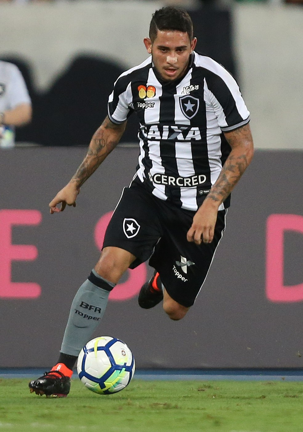 Leandro Carvalho fez só quatro jogos em sua primeira passagem no Botafogo —  Foto  Vitor Silva SSPress Botafogo 1da6fb506f566