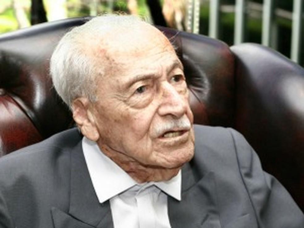 José Fragelli governou entre 1971 e 1975 (Foto: Edson Rodrigues / Secom-MT)