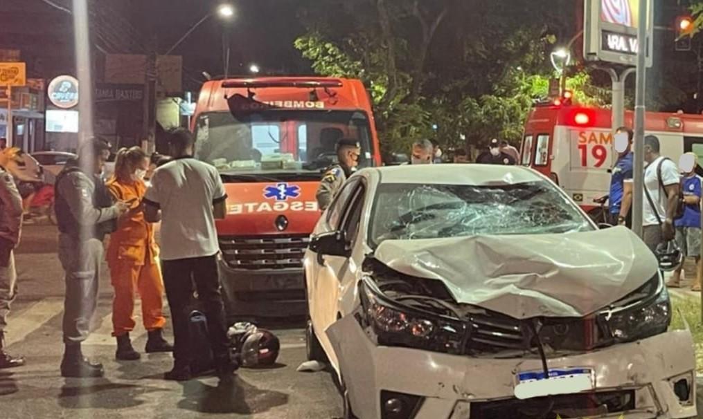 Motorista com sinais de embriaguez atropela e mata motociclista na Jatiúca, em Maceió