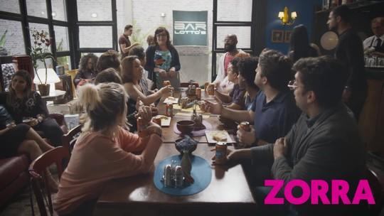 Desafio Nível Fanta: não é que a reunião de condomínio acabou num bar?