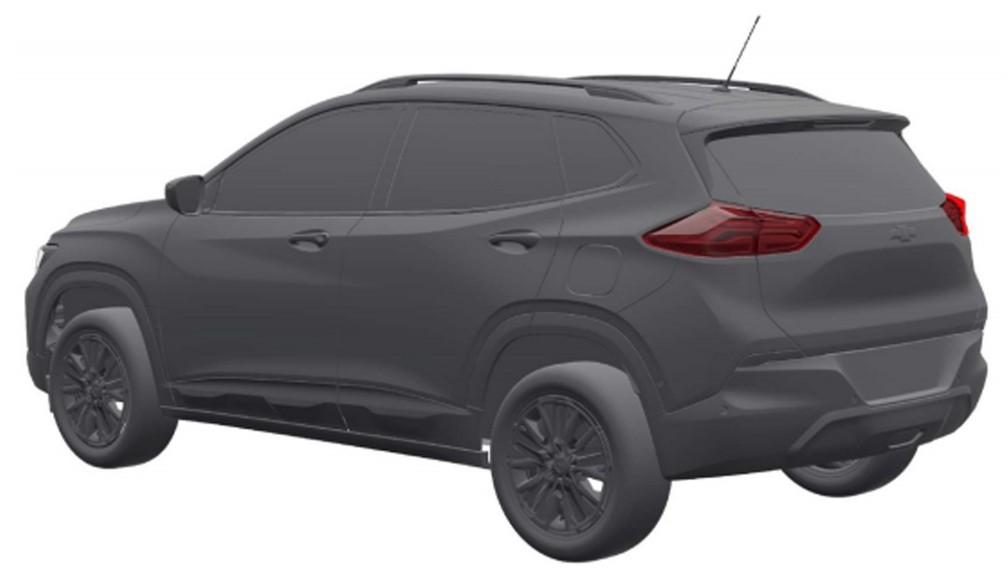 Chevrolet Tracker — Foto: Inpi