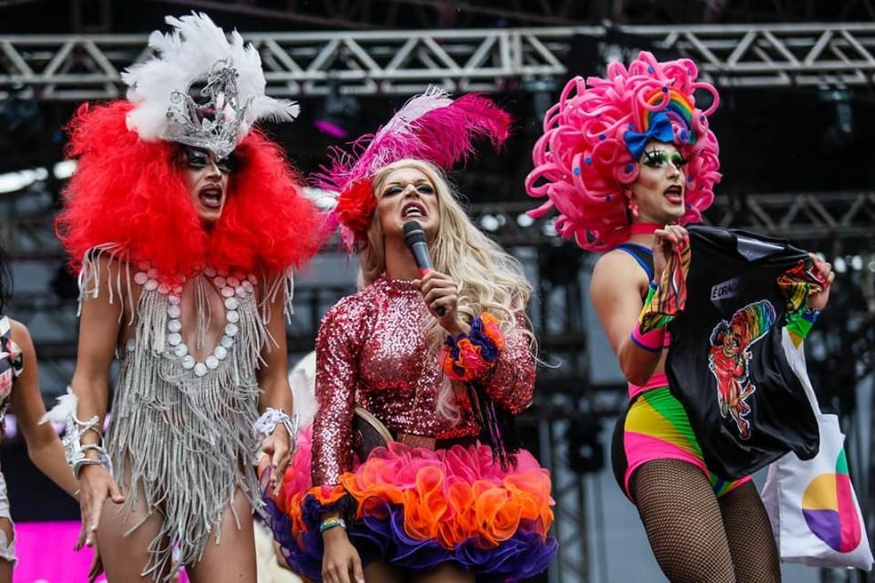 Bloco das Montadas no carnaval de 2019 Setor Bancário Norte, em Brasília — Foto: Secretaria de Cultura do DF/Divulgação