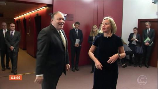 Irã foi tema da reunião entre autoridades americanas e europeias