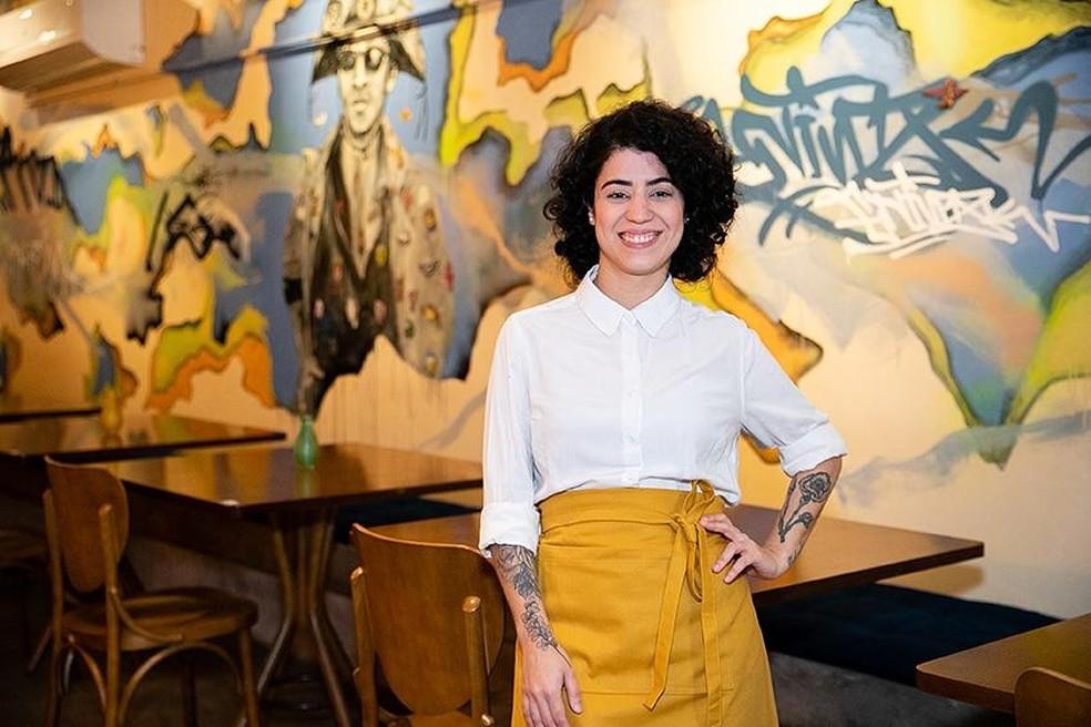 Madu Melo, dona do Mandioca Cozinha em São Paulo (SP) — Foto: Divulgação/Mandioca Cozinha