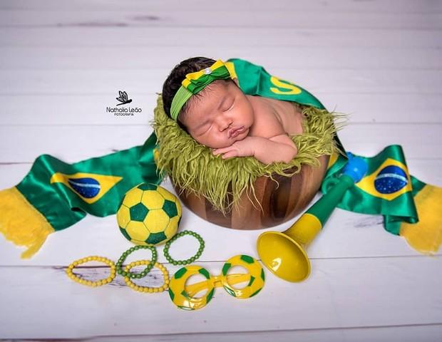 Ensaio Copa do Mundo (Foto: Reprodução Instagram/Nathalia Leal Fotografia)