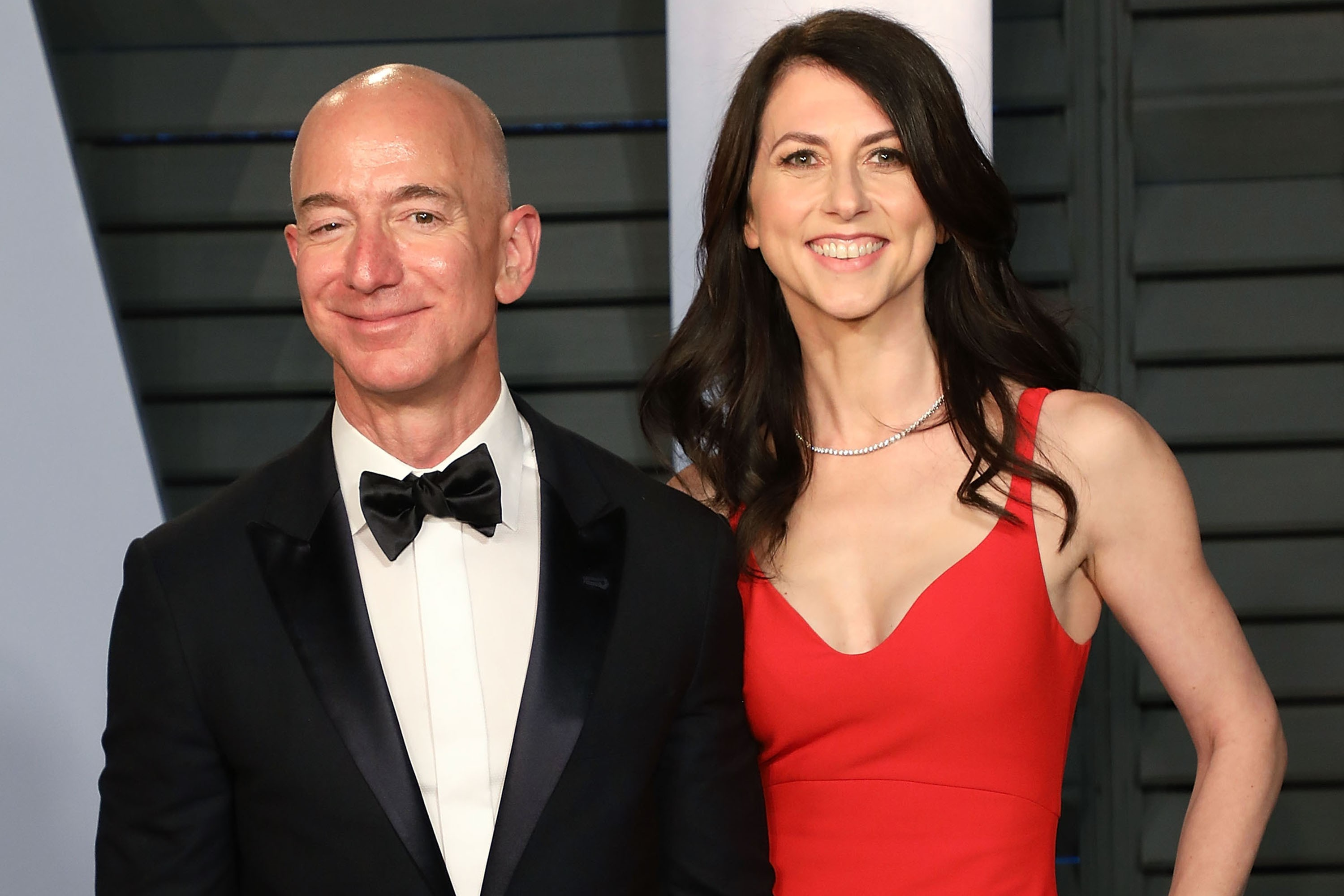 Jeff e Mackenzie Bezos (Foto: Getty Images)