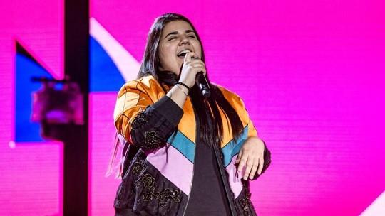 Yasmin Santos relembra acidente e celebra primeira participação no 'Festeja Brasil'