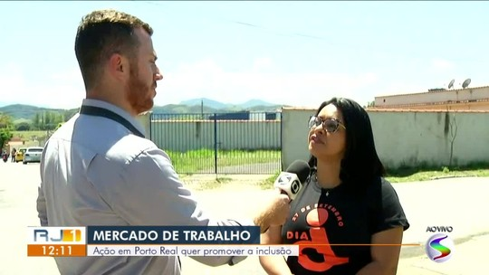Ação oferece vagas de emprego para pessoas com deficiência em Porto Real