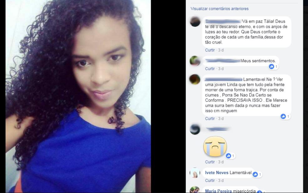Jovem foi assassinada por ex-companheiro que não aceitava fim do relacionamento (Foto: Reprodução/ Redes Sociais)