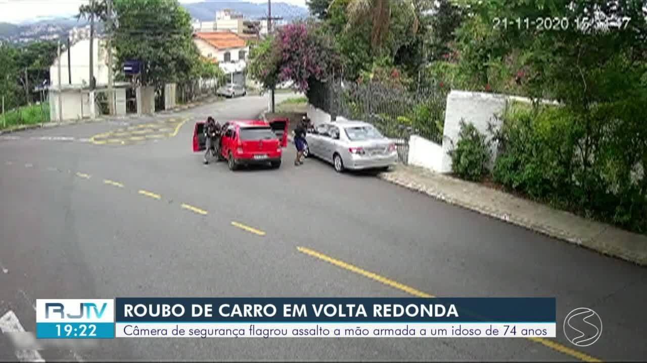 Polícia Civil investiga roubo de carro em Volta Redonda e identifica um dos suspeitos