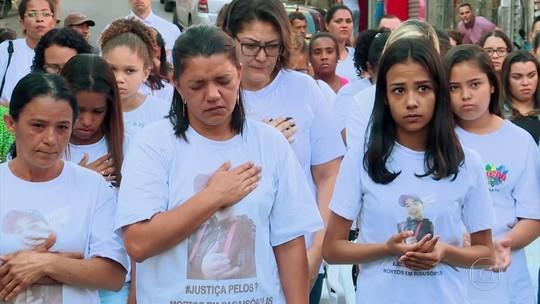 Parentes das vítimas de Paraisópolis participam de ato ecumênico