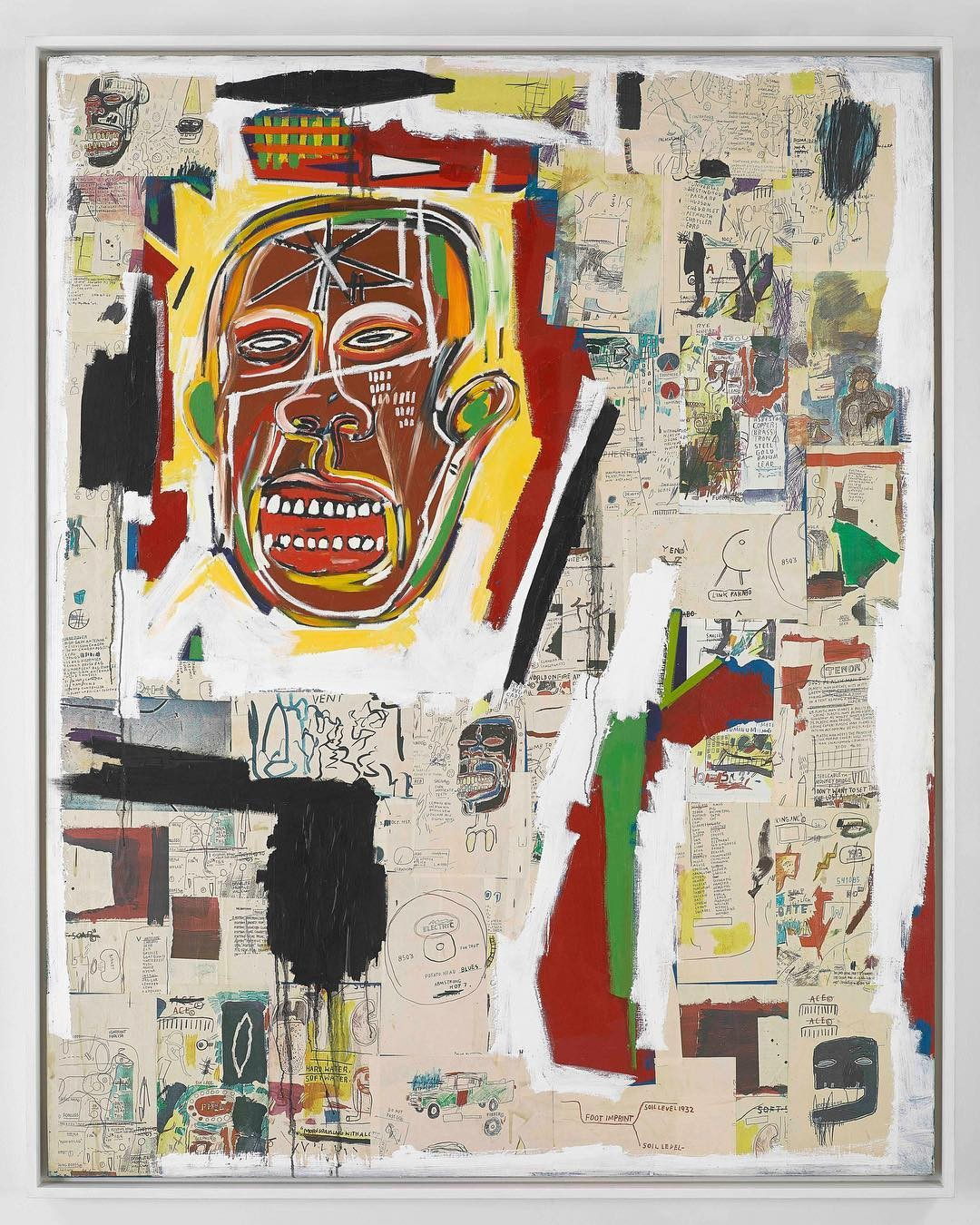 Jean-Michel Basquiat: Xerox (Foto: Reprodução Instagram)
