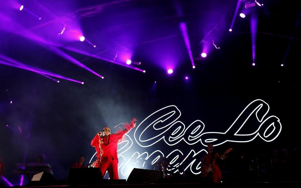 CeeLo encerra noite de shows do Palco Sunset neste sábado (23) no Rock in Rio (Foto: Marcos Serra Lima/G1)
