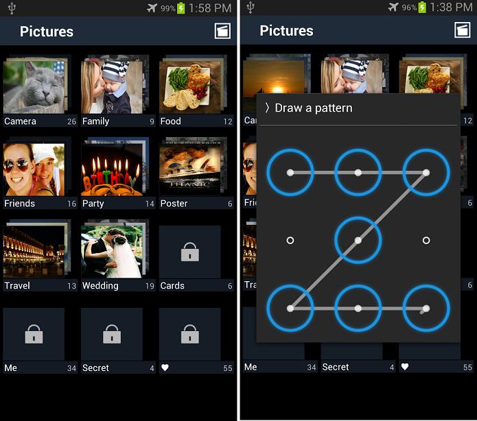 Secure Gallery é um app que mantém fotos e vídeos protegidos com senha (Foto: Divulgação/Secure Gallery)