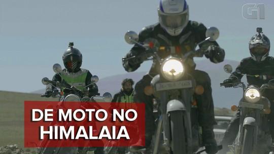 De moto no Himalaia: como é rodar no topo do mundo