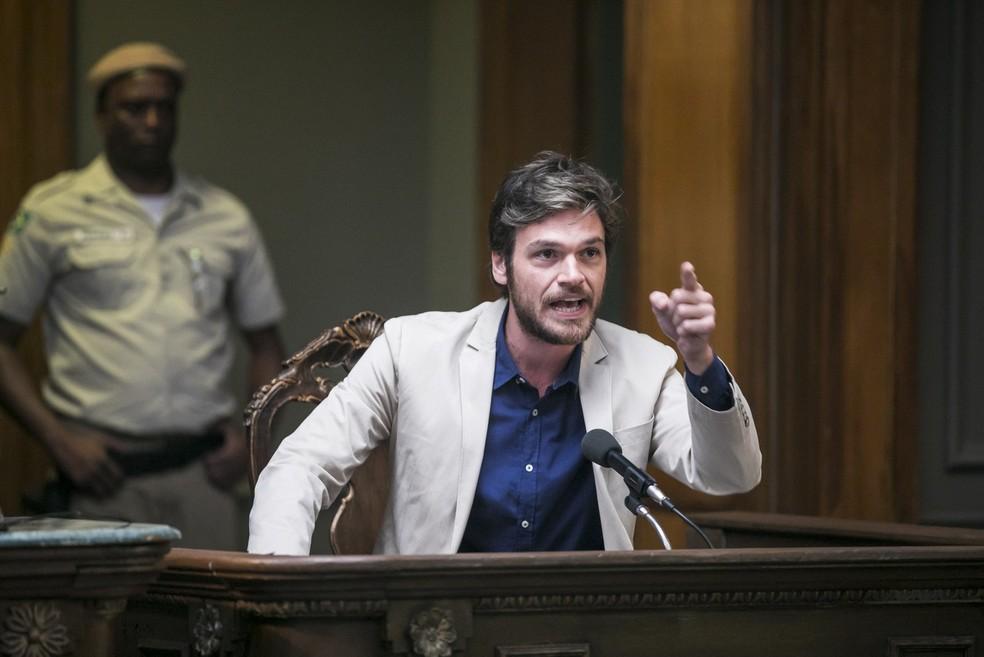Emílio Dantas vive Beto em 'Segundo Sol' — Foto: João Miguel Júnior/Globo