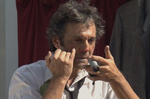 Domingos Montagner no documentário Pagliacci (Foto: Divulgação/Pandora Filmes)