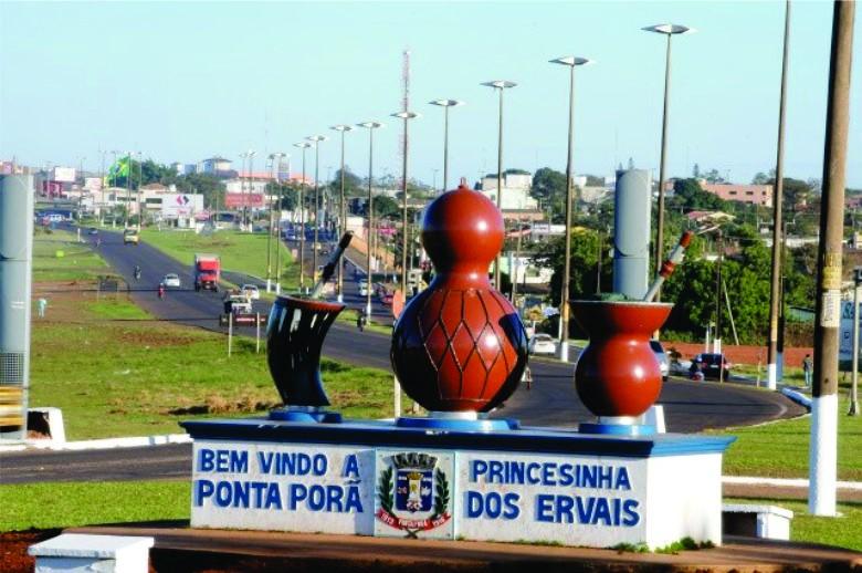 Comerciantes brasileiros na fronteira com Paraguai se reúnem com prefeito de Ponta Porã contra novas medidas