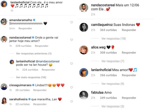 Nanda Costa e LanLan (Foto: Reprodução / Instagram)