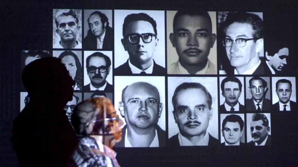 Cláudio Guerra e os desaparecidos — Foto: Divulgação