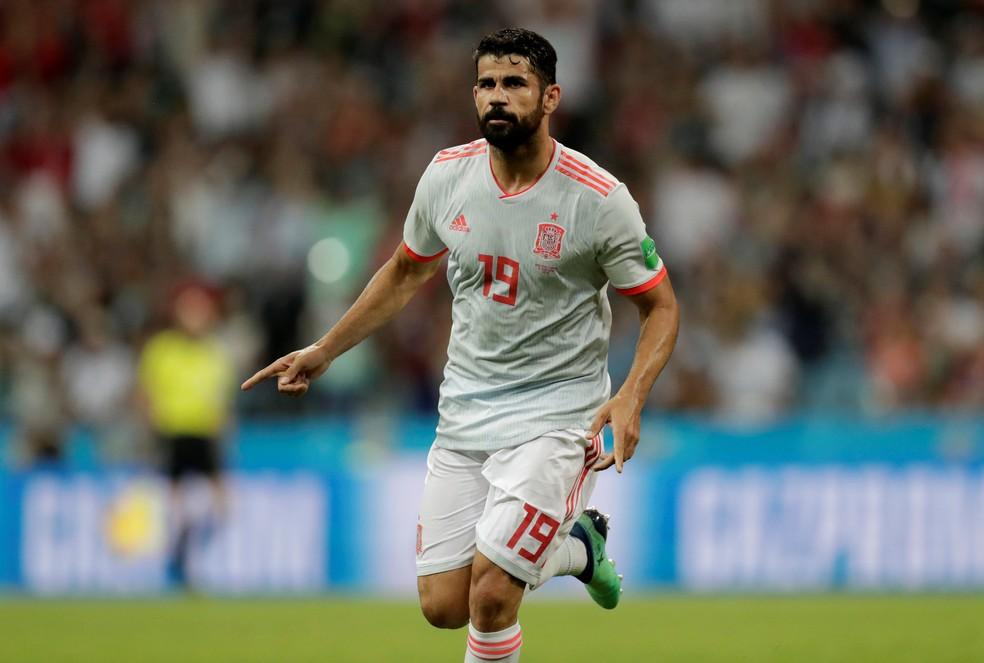 ec0092501e673 ... Diego Costa não disputará primeiros jogos de Luis Enrique à frente da  Espanha — Foto
