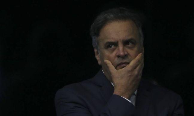 Senador Aécio Neves (Foto: O Globo)
