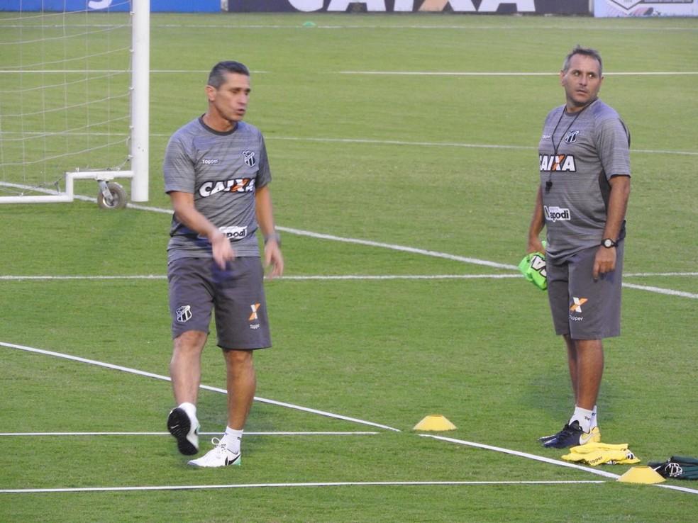 Jorginho, técnico do Ceará (Foto: Eduardo Trovão)
