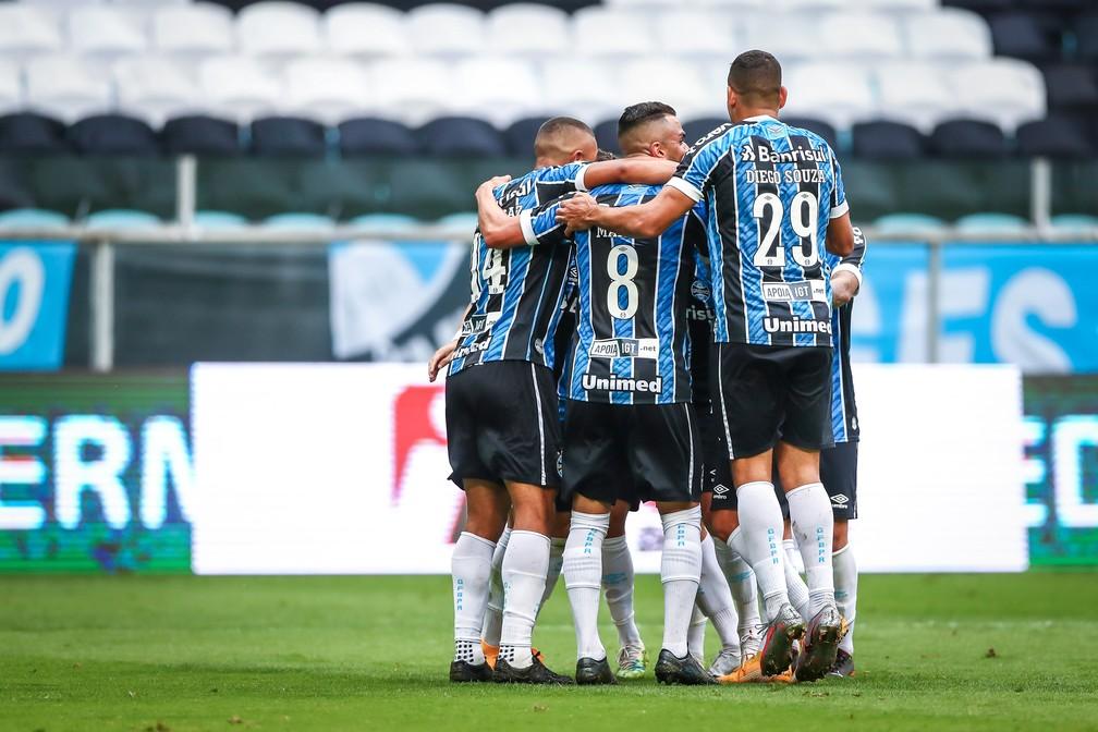 Grêmio vence o Vasco por 4 a 0 no Brasileirão — Foto: Lucas Uebel/DVG/GrÊmio