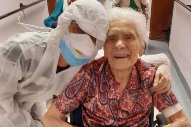 Italiana de 104 anos que já era viva na época da gripe espanhola resiste ao coronavírus
