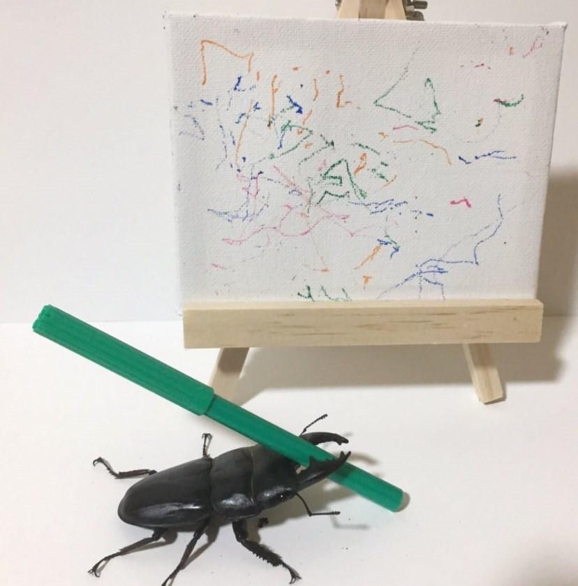 Spike e uma de suas obras vendidas no eBay