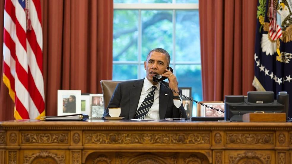 Barack Obama, em imagem de arquivo — Foto: AFP