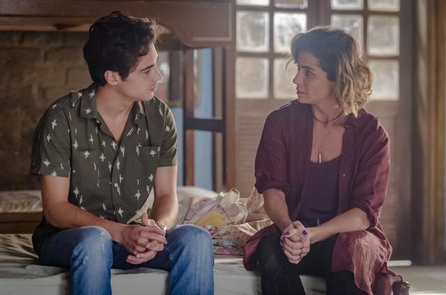 Giovanna Antonelli e Danilo Mesquita em 'Segundo Sol' (Foto: Paulo Belote/TV Globo)
