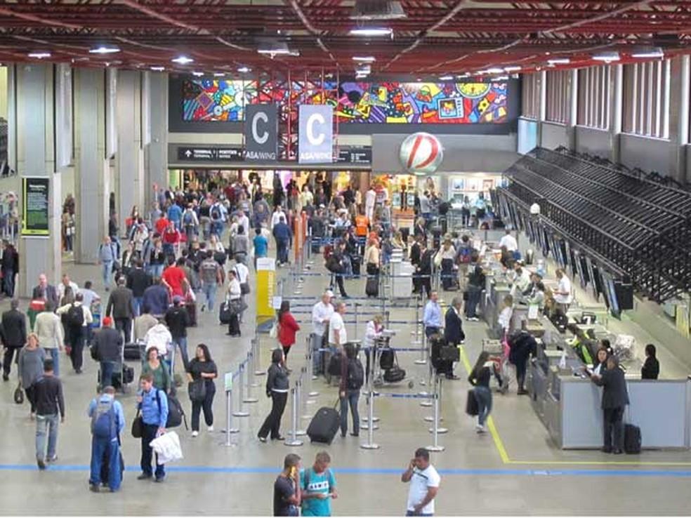 Resultado de imagem para 2 milhões de passageiros nos aeroportos