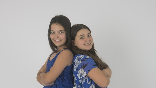 Conheças as irmãs Larissa e Isabela, participantes do 'The Voice Kids'