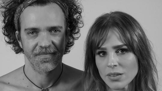 Larissa Bracher se derrete por Paulinho Moska: 'Me casaria com ele novamente'
