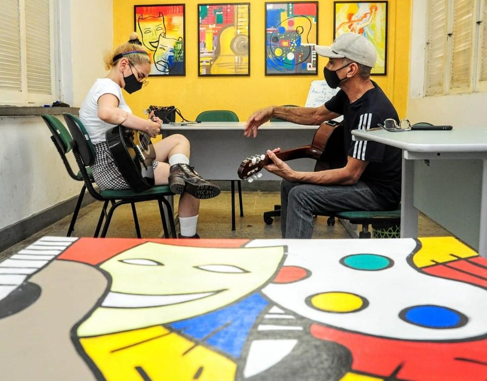Escola de Artes de Mossoró abre mais de 400 vagas para 13 cursos — Foto: Wilson Moreno/PMM