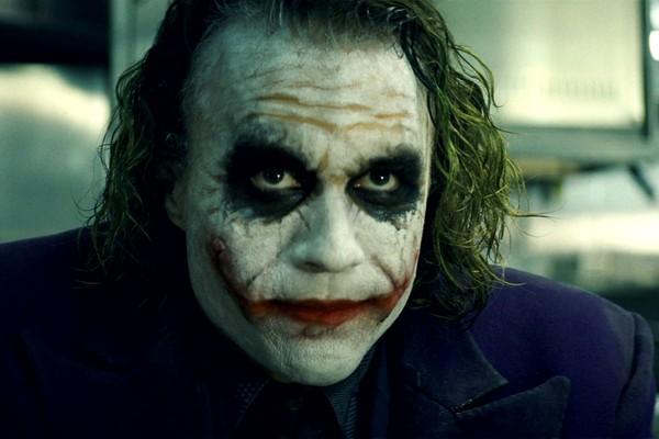 Heath Ledger como o Coringa em 'Batman: O Cavaleiro das Trevas' (2008) (Foto: Divulgação)