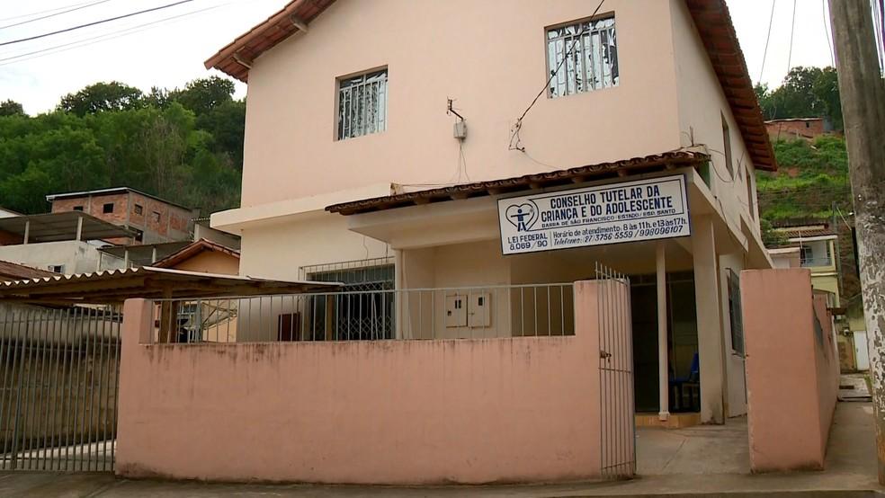 Conselho Tutelar de Barra de São Francisco atendeu as adolescentes — Foto: Reprodução/TV Gazeta