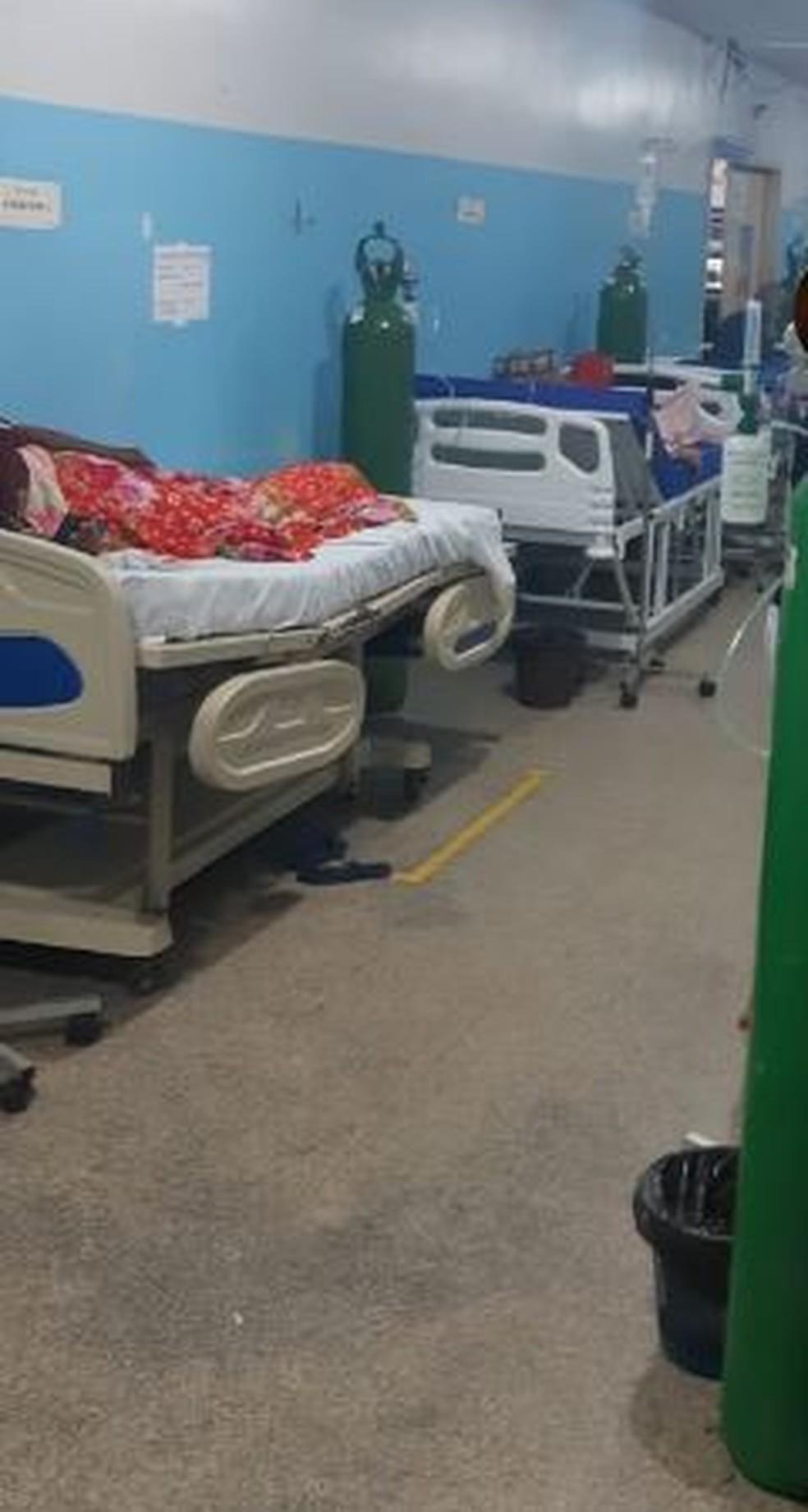 Imagens mostram fila de pacientes nos corredores da UPA da Zona Sul em Porto  Velho   Rondônia   G1
