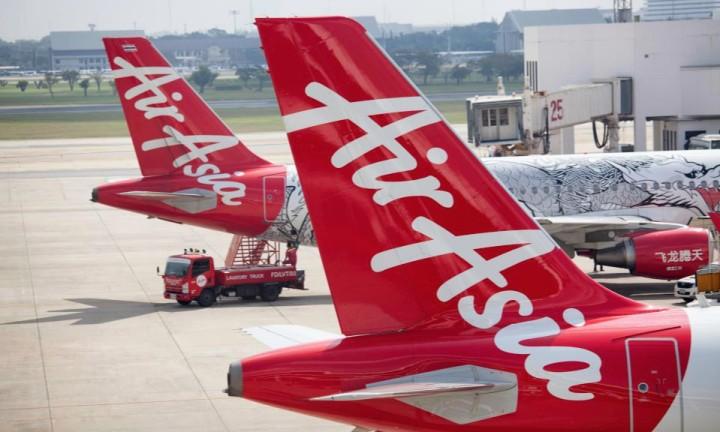 Aviões da AirAsia (Foto: Divulgação)