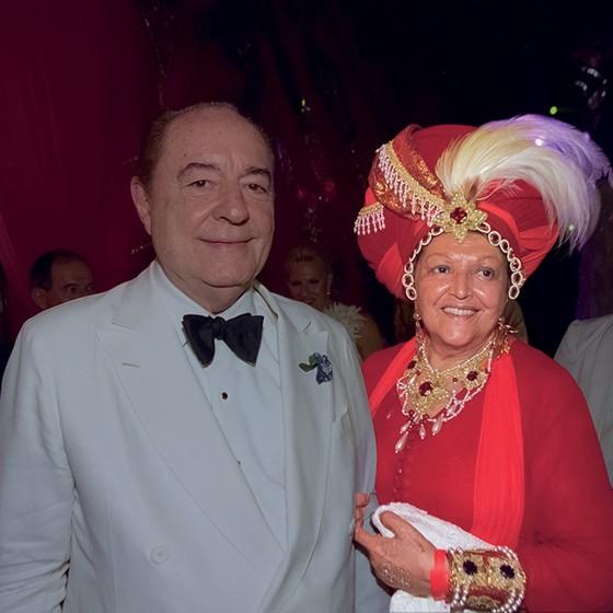 José Luiz Bulhões Pedreira e Tharcema se conheceram numa recepção em embaixada nos Estados Unidos: amor à primeira vista  (Foto: Marcos Ramos)