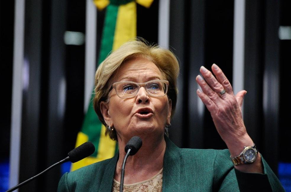 Ana Amélia aceita convite para ser candidata a vice de Alckmin
