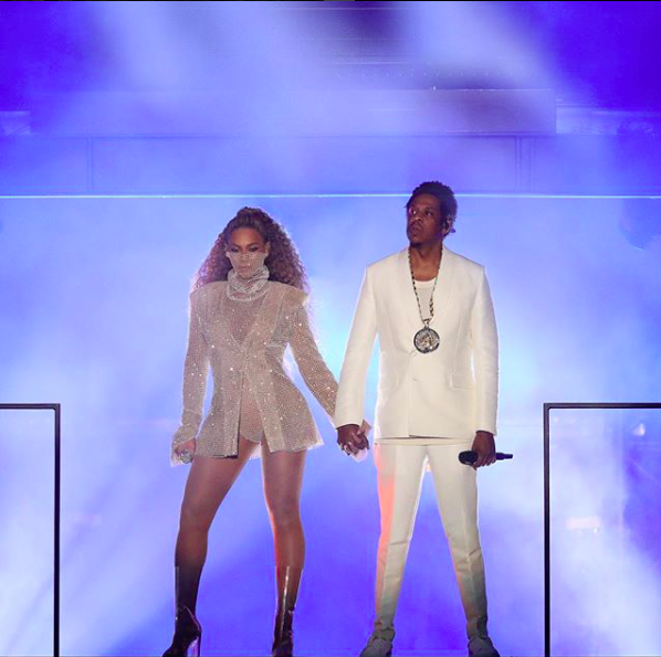 Beyonce e Jaz-Z (Foto: Reprodução Instagram  )