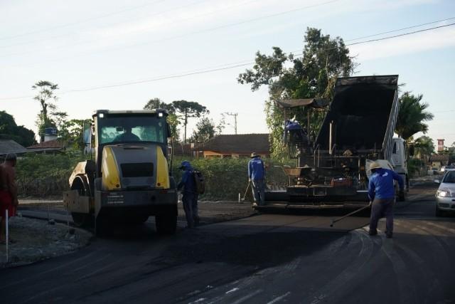 Investimentos em obras públicas melhoram a qualidade de vida em Araquari